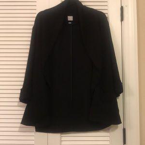 Lauren Conrad size 6 boyfriend oversized blazer
